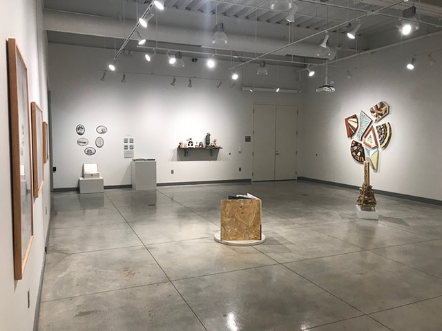 Exhibition installation at Norman Hall Gallery of Art, Arkansas Tech University, Russellville, AR. Jan. - Feb. 2019
