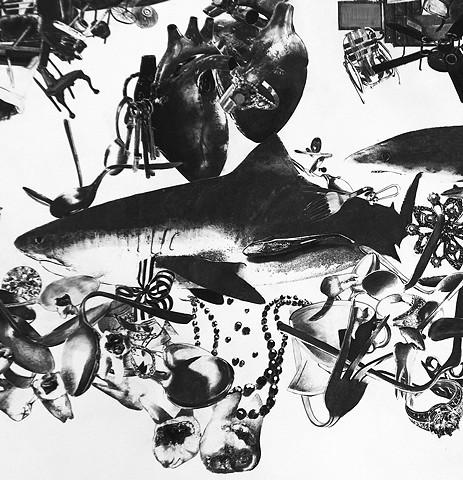 Shark Fuselage of Antiques and Memorabilia (detail)
