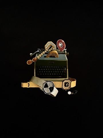 Al Mead's Expensive Typewriter
