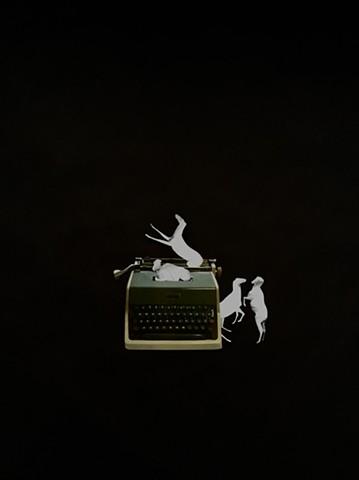 Al Mead's Ghost Writer Typewriter