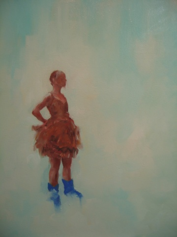 The Dancer (with blue moon boots)