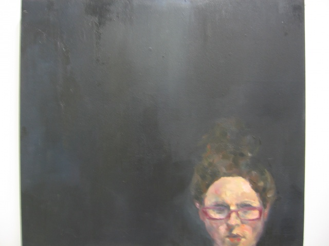 self-portrait (pink glasses)