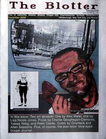 Blotter cover Novermber 2006