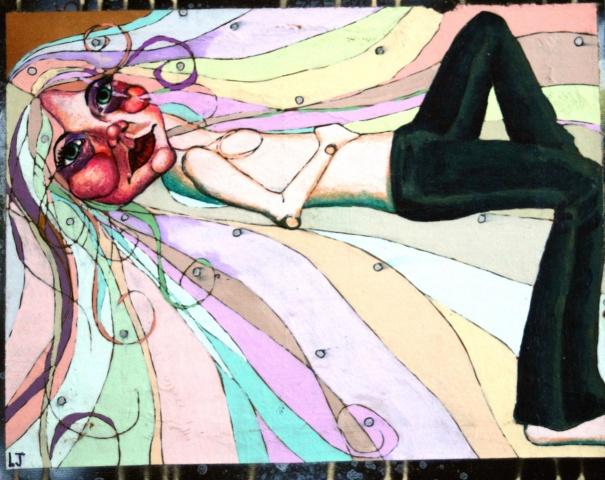 Laying Girl