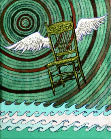 Chair with Wings