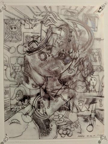 Heesu Jeon, The Mind's I; Ed Paschke Art Center