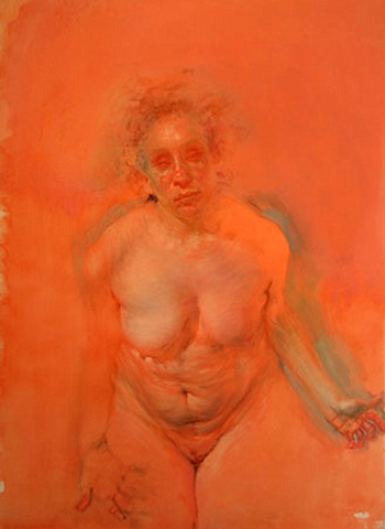 Bending Over Study (Orange)