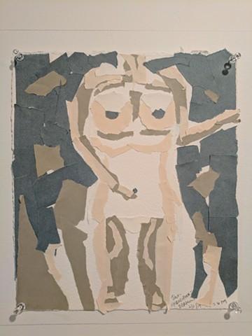 Jan Christenson-Burkson, The Mind's I; Ed Paschke Art Center; 2017