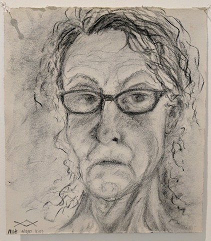 Nancy Hejna, The Mind's I; Ed Paschke Art Center; 2017