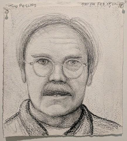 Tony Phillips, The Mind's I; Ed Paschke Art Center; 2017