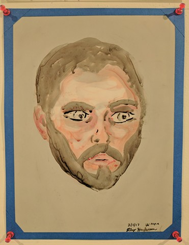 Riley Henderson, The Mind's I; Ed Paschke Art Center; 2017
