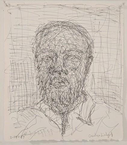 George Liebert, The Mind's I; Ed Paschke Art Center; 2017