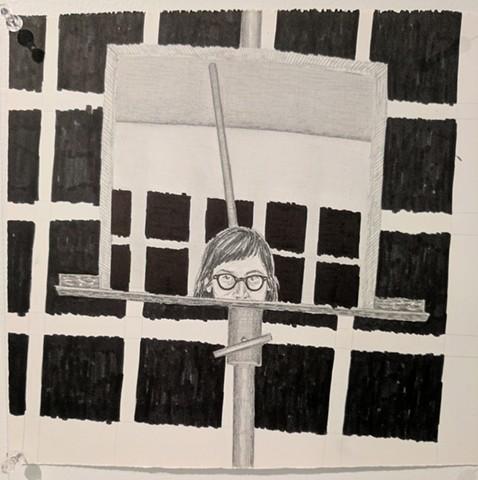 Magalie Guerin, The Mind's I; Ed Paschke Art Center