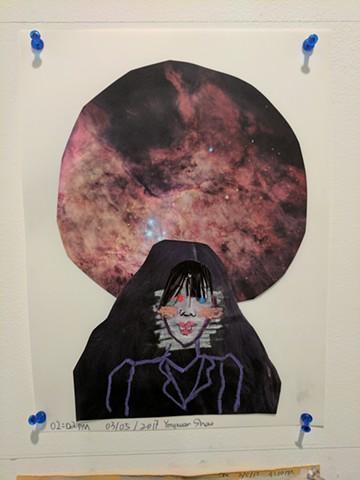 Yongxuan Shao, The Mind's I; Ed Paschke Art Center