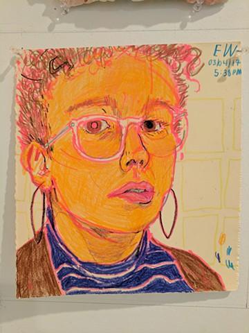 Erin Washington, The Mind's I; Ed Paschke Art Center; 2017