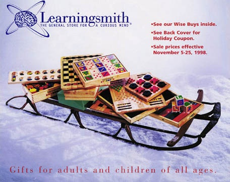 Learningsmith  Catalog Cover Shot