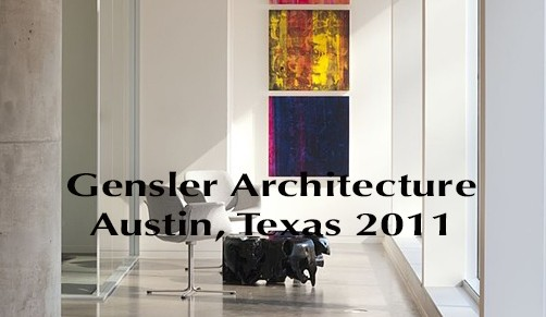 Side by Side / solo show / 2011 Gensler / Austin,Texas