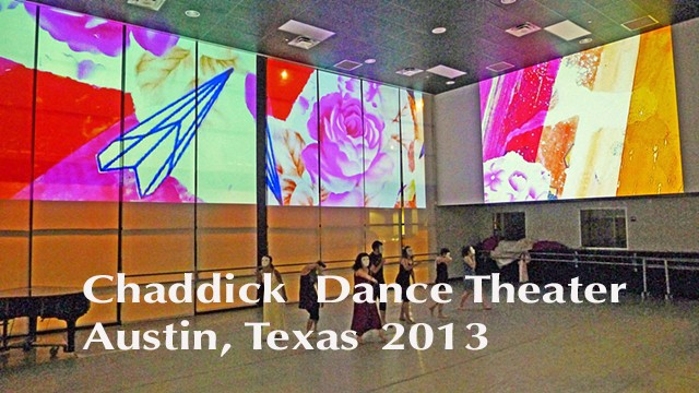 Chaddick Dance Theater 2013 / image projection series