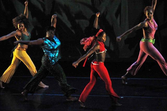 Rigidigidim calypso dance theatre Rosamond King wind winding Cynthia Oliver