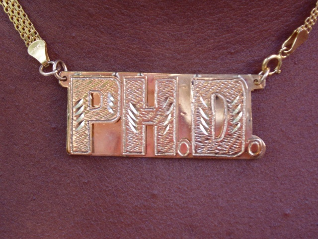 Ph.D. Bling - Necklace