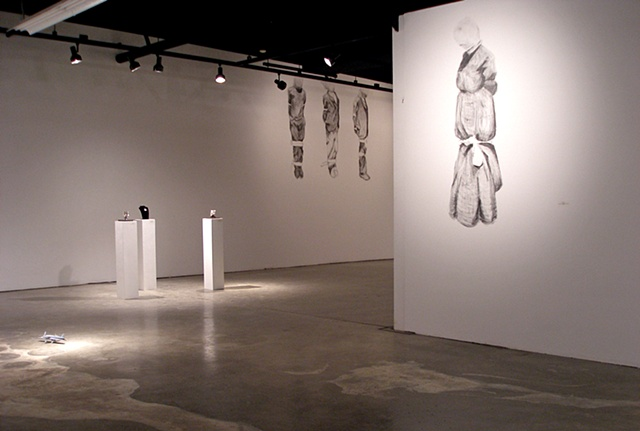 Installation view of I. Mary and III. Lewis, David, George