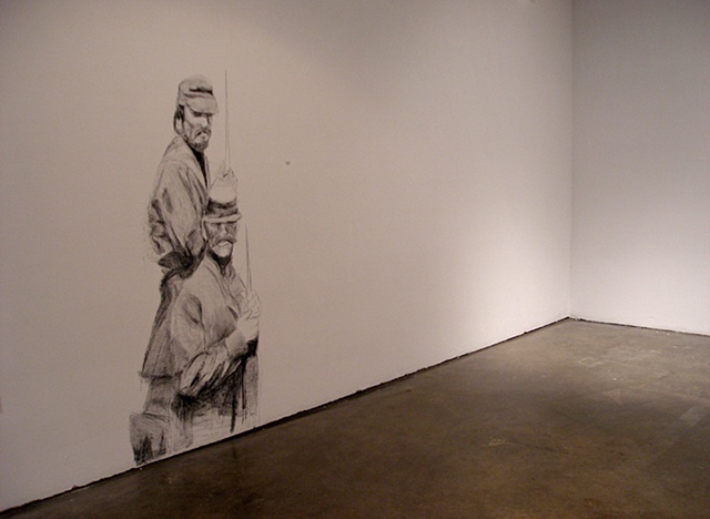 Installation view of II. Old Arsenal