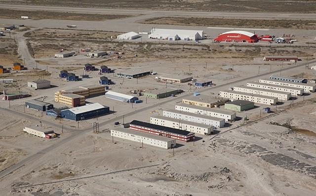 View of Kangerlussuaq GL
