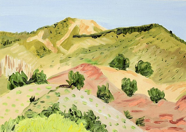 Water Soluble Souvenir: Untitled Hills