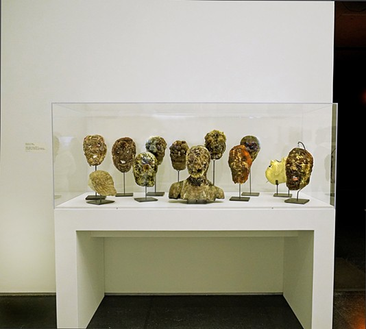 Wasp Heads Group (Shown in situ at the MCA Chicago)