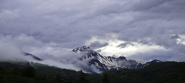 Storm Over Mt. Daly