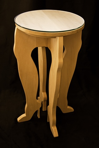 High Heel End Table