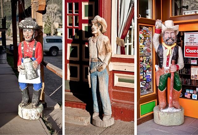 Cigar Store Cowboys
