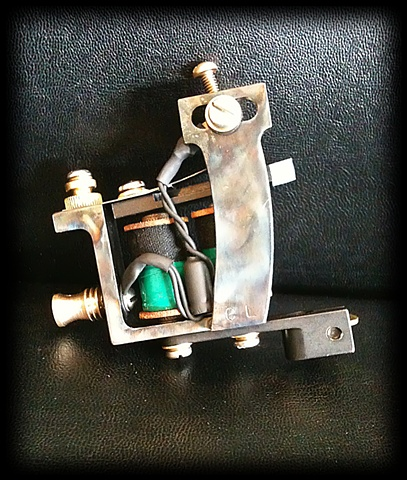 Tattoo Machine by Chris Lawrence