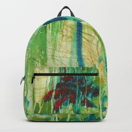Azul, Corriendo con una Memoria Backpack