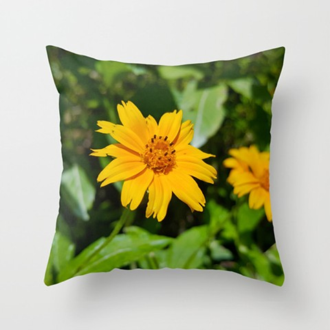 Beach Sunflower Pillow