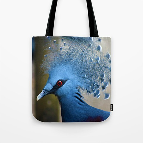 Victoria-Crowned Pigeon Bag