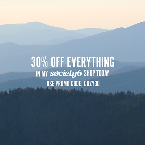 Take 30 percent off today!