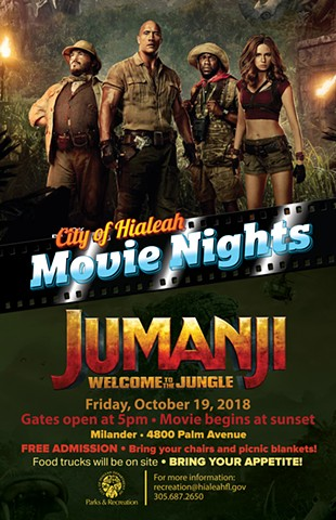 Hialeah Movie nights: Jumanji