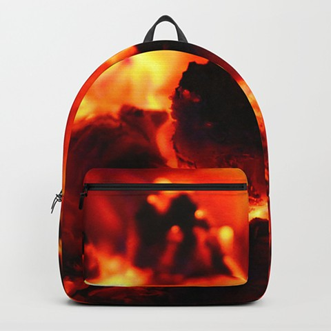 Hot Embers Book bag