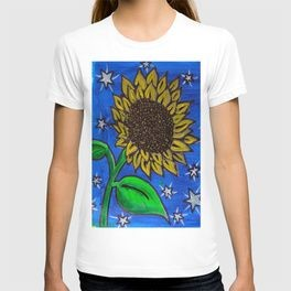 Boo's Sunflower T-Shirt