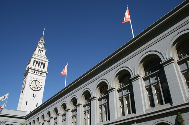 Embarcadero and Farmer's Market