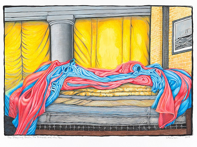 The Sleeping Porch and the Princess and the Pea