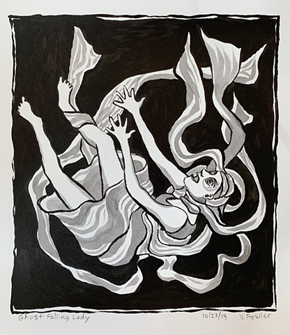 Ghost: Falling Lady