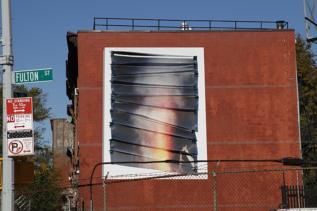 Mid Day light (installation detail)