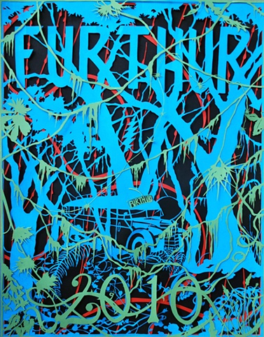 Furthur 2010 Original Papercut
