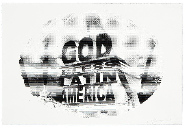 God Bless Latin America - Screenprint Edition of 25