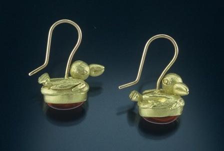 Robin Red Breast Earrings