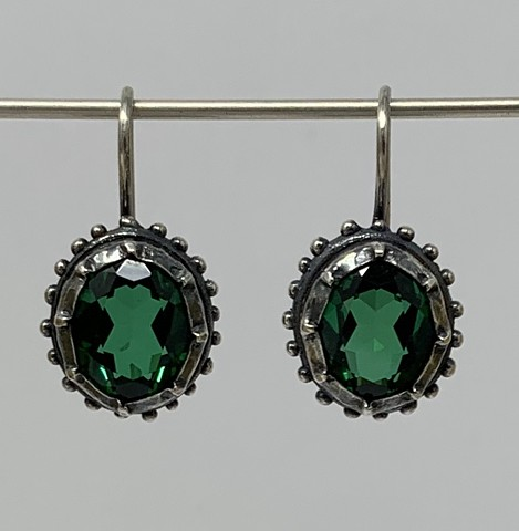 Georgian Emerald Earrings