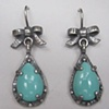 Bows with Teardrop Turquoise