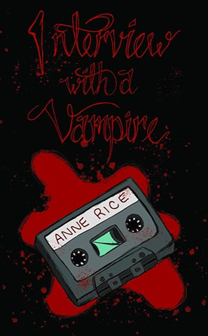 Interview With A Vampire Book Cover Design